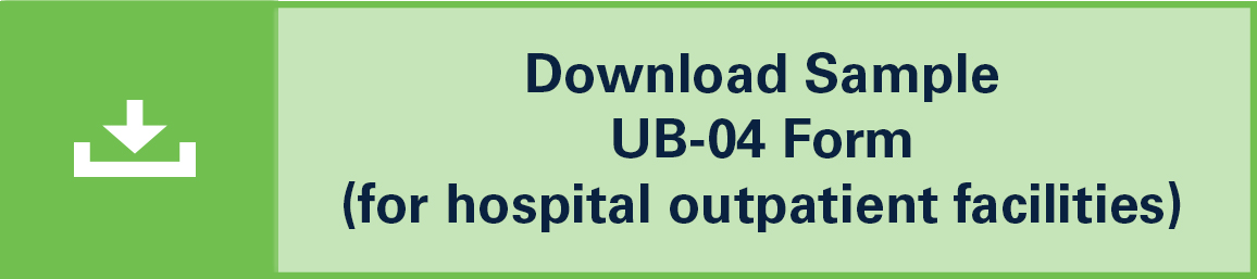 Download Sample UB-04 Form for KEYTRUDA® (pembrolizumab) 100 mg for Hospital Outpatient Facilities